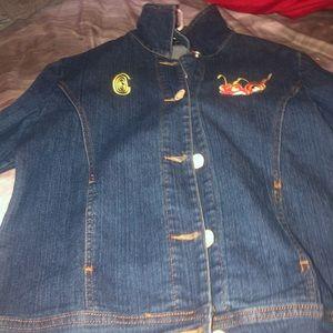 2000s coogie Jean jacket